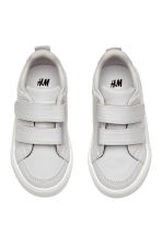 Canvas trainers - Light grey - Kids | H&M 2