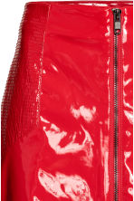 Patent skirt - Red - Ladies | H&M 4