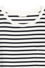 T-shirt dress - White/Striped - Ladies | H&M CN 3