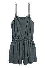 Jersey playsuit - Petrol - Ladies | H&M 2
