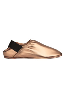 Mocassini slip-on in pelle
