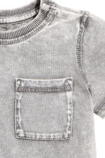 T-shirt - Grey washed out - Kids | H&M CN 2