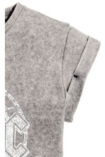 Top in jersey con stampa - Grigio/AC/DC -  | H&M IT 3
