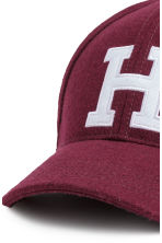 Wool-blend cap - Burgundy - Ladies | H&M 3