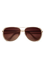 Sunglasses - Gold - Ladies | H&M 2