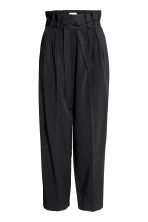 Wide trousers - Black -  | H&M CA 2