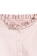 Off-the-shoulder blouse - Powder pink - Ladies | H&M 3
