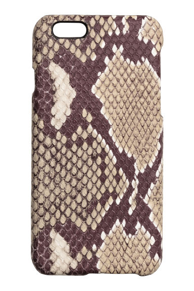 iPhone 6/6s case - Snakeskin print - Ladies | H&M