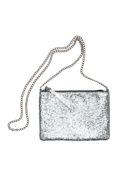 Shoulder bag - Silver - Ladies | H&M CN 1