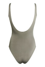 Swimsuit High leg - Khaki green - Ladies | H&M 3