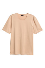 Pima cotton T-shirt - Beige - Men | H&M 2