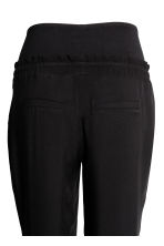 MAMA Ankle-length trousers - Black - Ladies | H&M 3