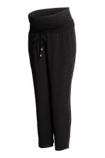MAMA Ankle-length trousers - Black - Ladies | H&M 2