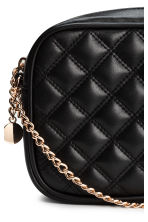 Quilted shouder bag - Black - Ladies | H&M CN 3