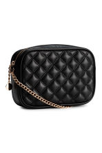 Quilted shouder bag - Black - Ladies | H&M CN 2