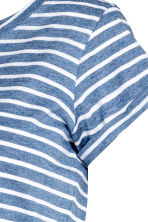 MAMA Jersey top - Dark blue/Striped -  | H&M 3