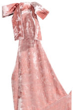 Crushed velvet dress - Pink - Ladies | H&M 4