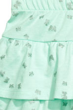 Jersey skirt - Mint green/Butterflies - Kids | H&M CN 3