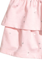 汗布半身裙 - Light pink/Heart - Kids | H&M CN 3