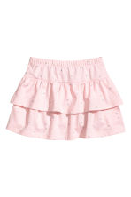 Jersey skirt - Light pink/Heart - Kids | H&M 2