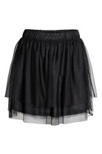 Tulle skirt - Black -  | H&M 2