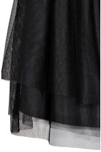 Tulle skirt - Black -  | H&M 3