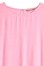 H&M+ Crêpe top - Pink - Ladies | H&M CN 3
