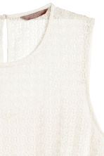 H&M+ Lace top - Natural white - Ladies | H&M 2