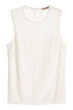 H&M+ Lace top - Natural white - Ladies | H&M 1