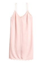 Slip-on dress - Powder pink - Ladies | H&M CN 2