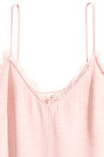 Slip-on dress - Powder pink - Ladies | H&M CN 3