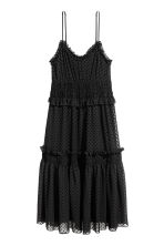 Knee-length dress - Black/Spotted - Ladies | H&M 2