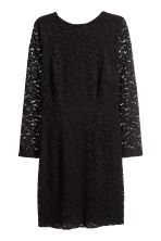 H&M+ Lace dress - Black - Ladies | H&M 1