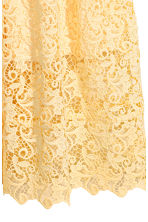 Lace skirt - Yellow - Ladies | H&M CN 3