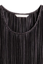 Pleated dress - Black - Ladies | H&M 3