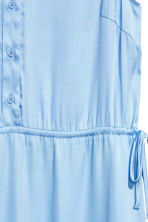 Satin dress - Light blue - Ladies | H&M 3