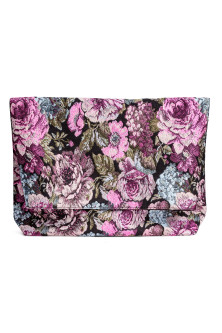 Jacquard-weave clutch bag