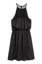 Dress with a lace back - Black - Ladies | H&M 3