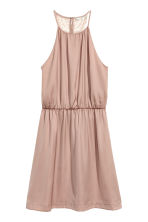 Dress with a lace back - Powder - Ladies | H&M CN 2