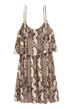 Jersey dress - Snakeskin print - Ladies | H&M CN 2