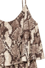 Jersey dress - Snakeskin print - Ladies | H&M CN 3