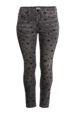 H&M+ Stretch trousers - Black/Patterned - Ladies | H&M 2