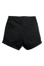 Shorts in twill a vita alta - Nero - DONNA | H&M IT 3