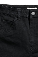 Shorts in twill a vita alta - Nero - DONNA | H&M IT 4