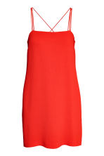 Textured-weave dress - Red - Ladies | H&M 2