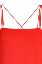 Textured-weave dress - Red - Ladies | H&M 4