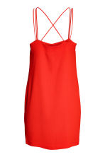 Textured-weave dress - Red - Ladies | H&M 3