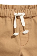 Pull-on chinos - Dark beige - Kids | H&M 2