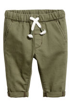 Chinos - Verde kaki - BAMBINO | H&M IT 1