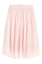 Pleated skirt - Light pink -  | H&M 2